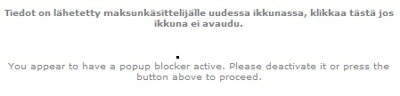 pop-up blokkeri